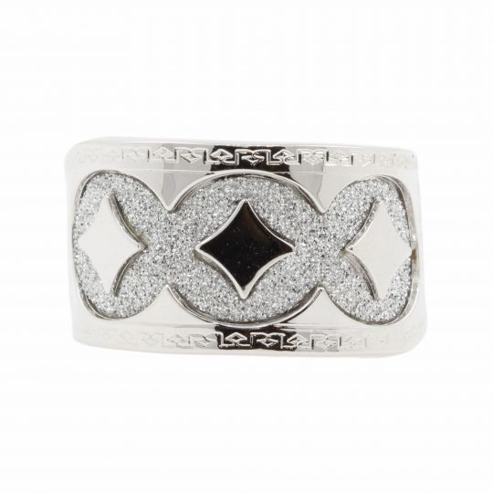 Rebecca White Gold Plated, Glam Film Ring