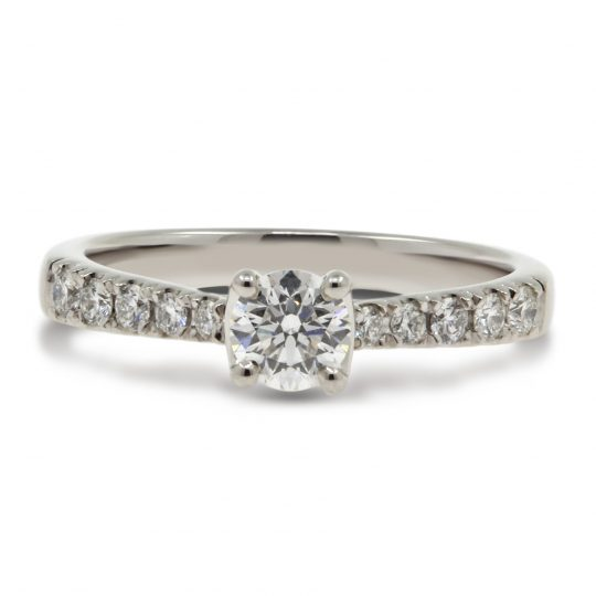 Platinum Classic Skye 0.40ct Diamond Ring
