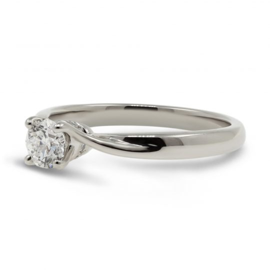 Platinum Rona 0.40 Diamond Ring