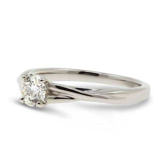Platinum Carrera 0.50ct Diamond Ring