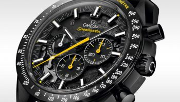 Omega launch the Speedmaster 'Dark side of the moon' Apollo 8 at Baselworld 2018