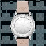 Omega DeVille 36mm Diamond Bezel Steel Ladies Watch