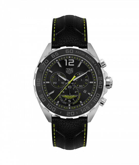 Tag Heuer 43mm Formula 1 Aston Martin Racing Special Edition Gents Watch.