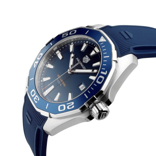 Tag Heuer AquaRacer 43mm Steel Alternate Finished Gents Watch