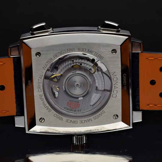 Tag Heuer Monaco Calibre 11 39mm Steel Alternate Finished Gents Watch