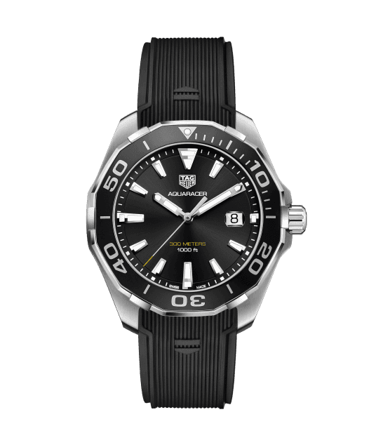 Tag Heuer AquaRacer 43mm Stainless Alternate Finished Gents Watch