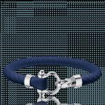 Omega blue Sailing bracelet rubber