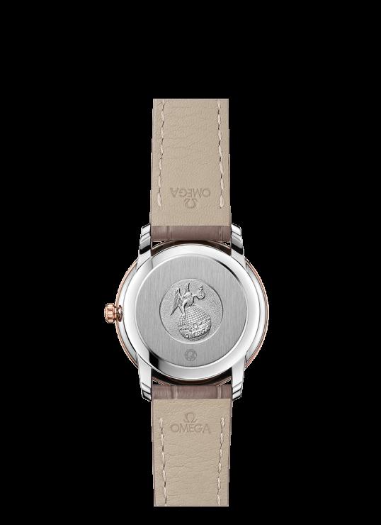 Omega DeVille  27.4mm Diamond Steel & red gold Ladies Watch