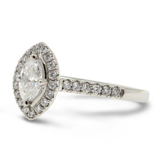 Platinum Skye Marquise  Diamond Ring