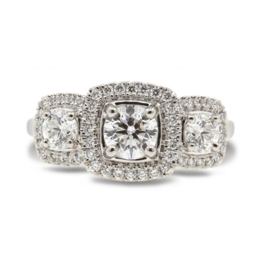 Platinum Brava 1.14ct Diamond Ring