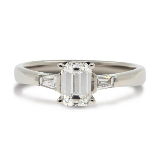 Platinum Eden 1.0ct Diamond Ring