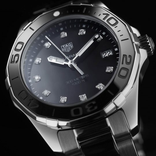Tag Heuer AquaRacer 35mm Steel Alternate Finished Ladies Watch