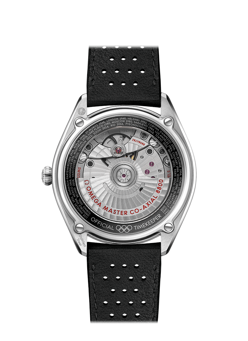 Omega Olympic Games Collection Limited Edition Caseback