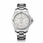 Breitling 41mm Colt Silver Watch