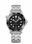 OMEGA SEAMASTER 42MM STAINLESS STEEL WATCH