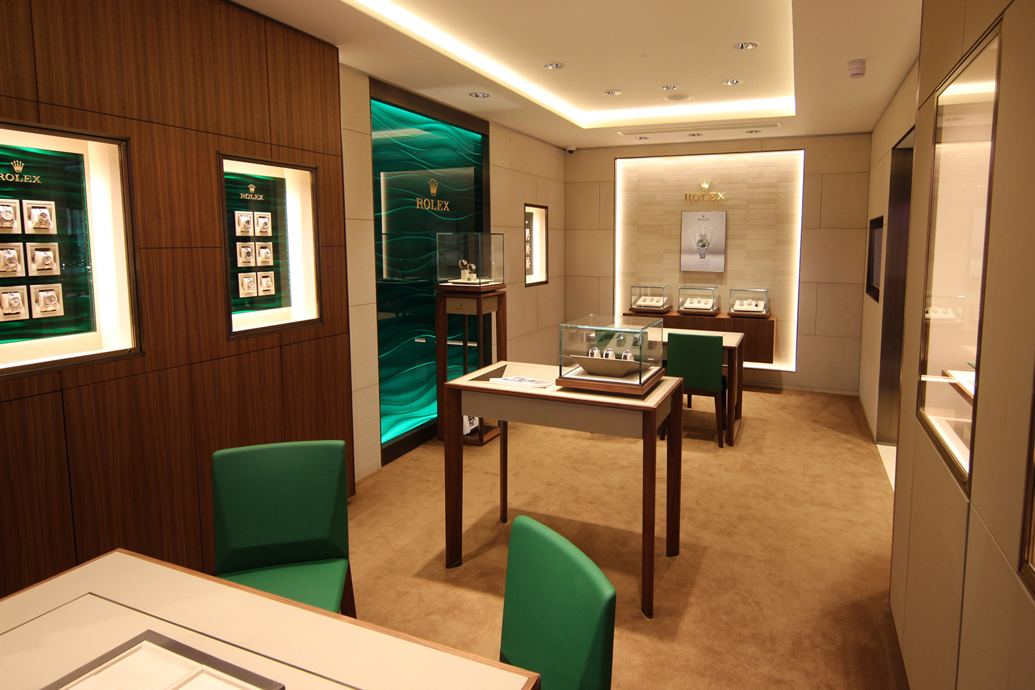 The Rolex Room