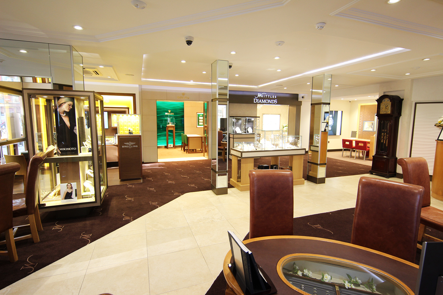 Whittles Jewellers Showroom