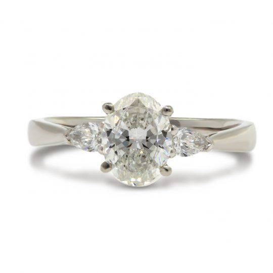 Platinum Floren 1.02cts Diamond Ring