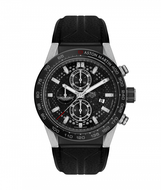 Tag Heuer Carrera 45mm Aston Martin Steel Gents Watch