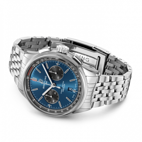 Breitling Premier 42mm Stainless Steel Gents Watch
