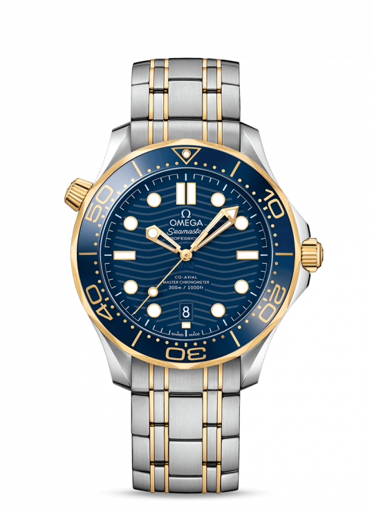 Omega Seamaster 42mm Stainless Steel and 18ct Gold Gents Watch