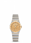 OMEGA Constellation Manhattan 25mm Steel and Yellow Gold Ladies Watch