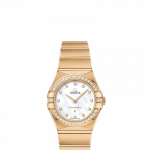 OMEGA Constellation Manhattan 25mm 18ct Yellow Gold Ladies Watch