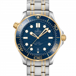 OMEGA Seamaster 42mm Steel and Yellow Gold Gents Watch