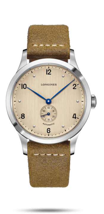 Longines Heritage 40mm Stainless Steel Gents Watch