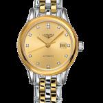Longines Flagship 30mm Bi-colour Ladies Watch