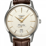 Longines Flagship Heritage 38.5mm Stainless Steel Watch