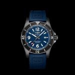 Breitling 46mm Superocean Black Steel Watch