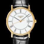 Longines Presence 33.5mm 18ct Yellow Gold Watch