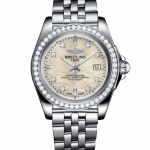 Breitling 32mm Galactic Steel Ladies Watch