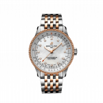 Breitling Navitimer 35mm Stainless Steel and Rose Gold Ladies Watch