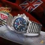 Breitling 42mm Chronomat Red Arrows Stainless Steel Limited Edition