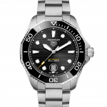 TAG Heuer 43mm Aquaracer Stainless Steel Gents Watch