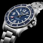 Breitling 44mm Superocean Stainless Steel Gents Watch