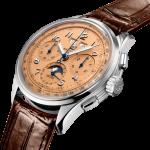 Breitling 42mm Premier Datora Stainless Steel Watch